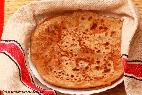 how to make wheat paratha