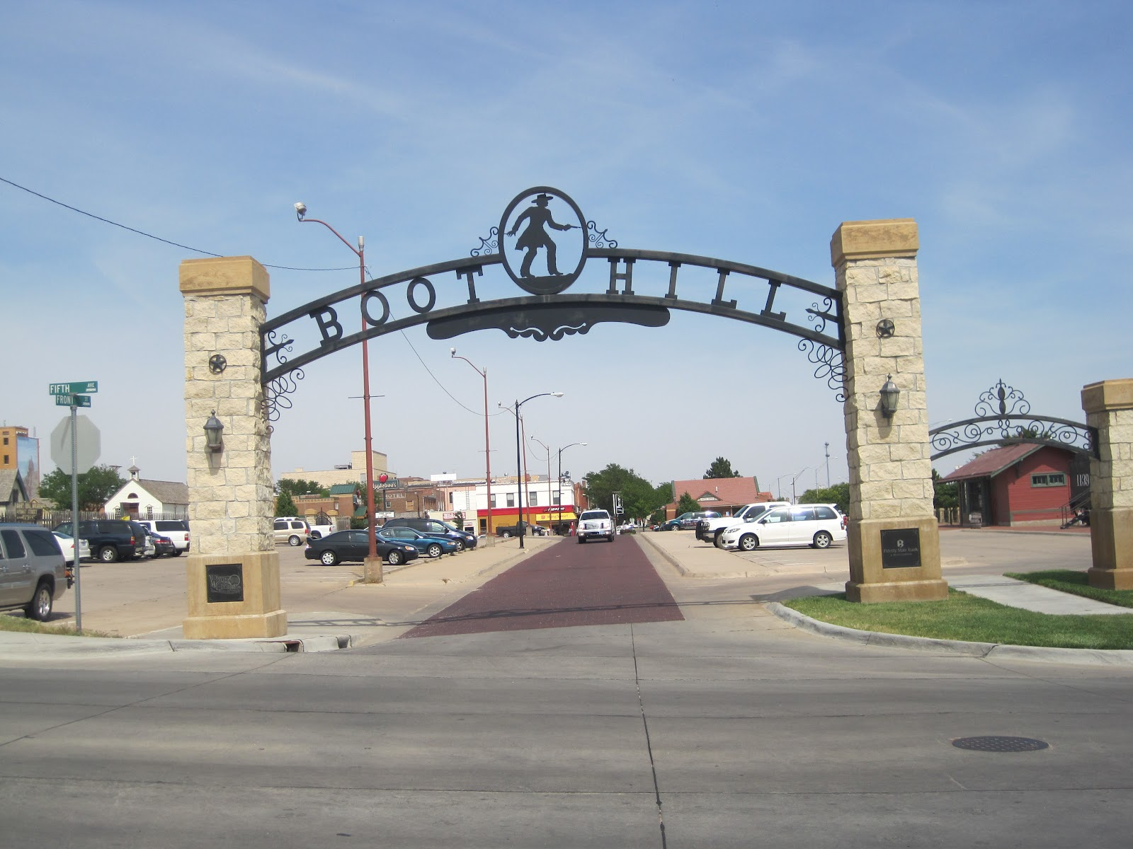 Dodge city to liberal