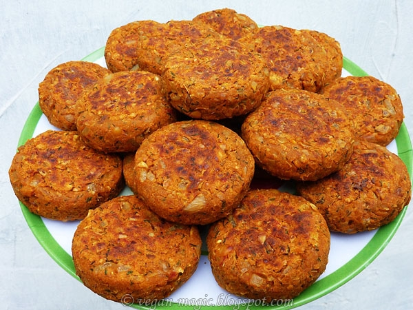 Chickpea Walnut Patties