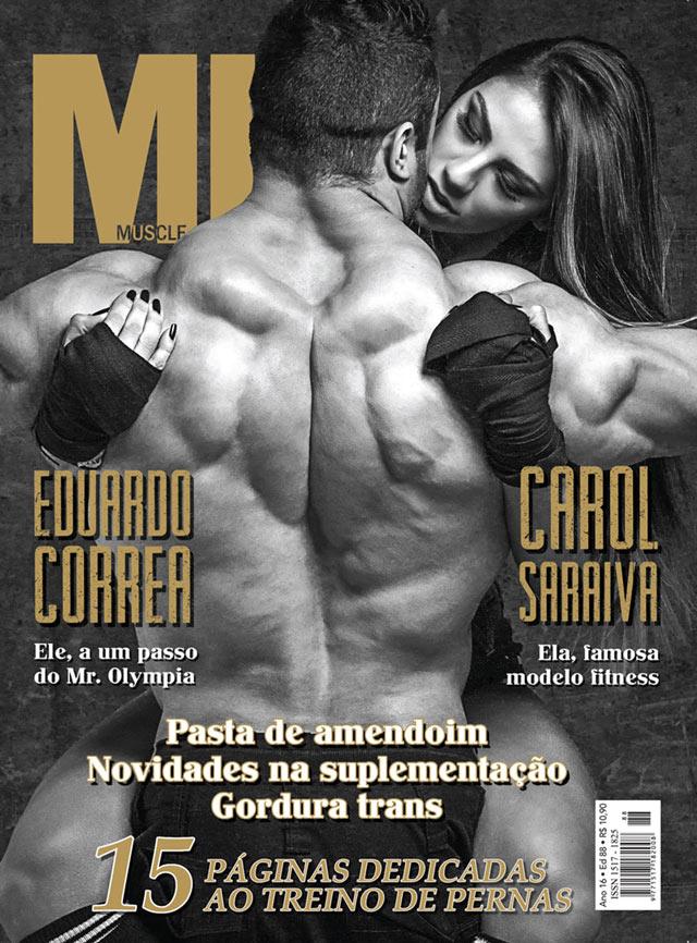 Eduardo Corrêa e Carol Saraiva. Foto: Divulgação