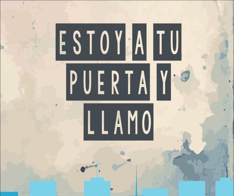 ESTOY A LA PUERTA Y LLAMO (material de oración)