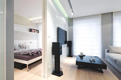 Desain Interior Minimalis Serba Putih 4