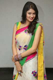 Kushi young telugu Actress Kushi in lovely Saree Yellow Backless Blouse Stunning Pics
