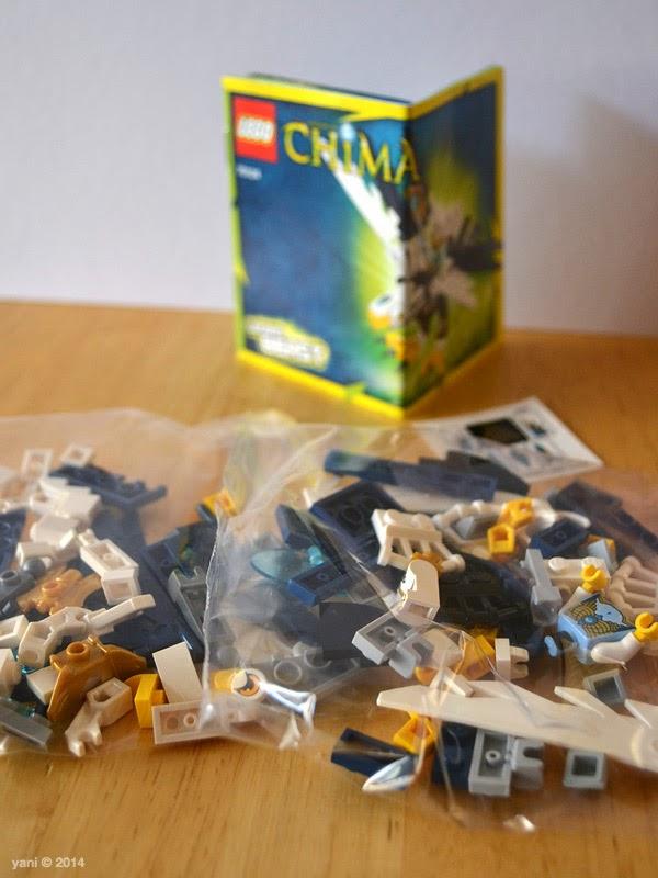 lego chima legend beast eagle - box contents