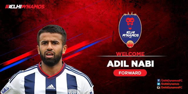 Delhi Dynamos FC sign Adil Nabi