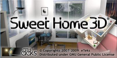 advanced projects in computers sweet home 3d design a house. Black Bedroom Furniture Sets. Home Design Ideas