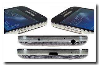 Samsung  Galaxy S4 Mini I9190 dari berbagai sisi