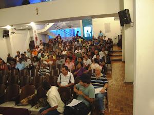 Auditório,  público  presente
