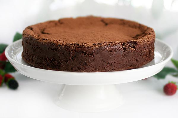 Karina's gluten-free truffle cake