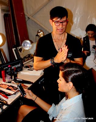 Celebrity Stylist, Marco Pena at MBFWSWIM 2014
