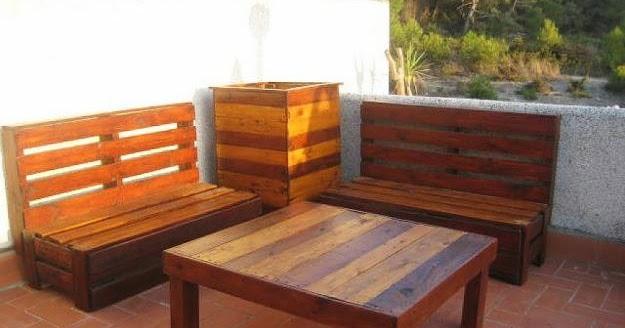 Madera arte muebles rusticos por miguel ruiz algunos for Sillones de patio de madera