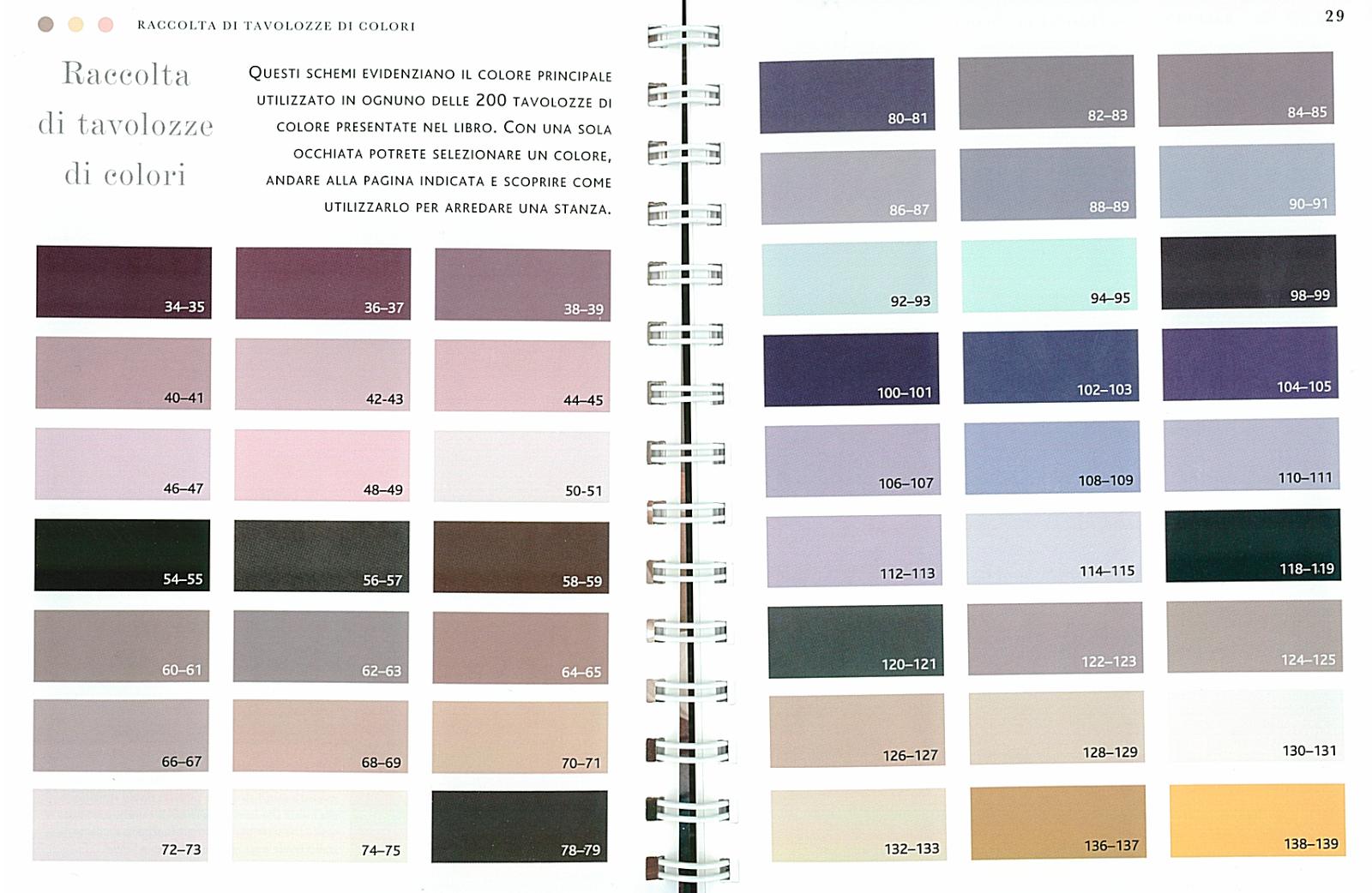 Astenersi no perditempo il colore in casa i libri che ci aiutano enciclopedia degli schemi di - Colori per la casa ...