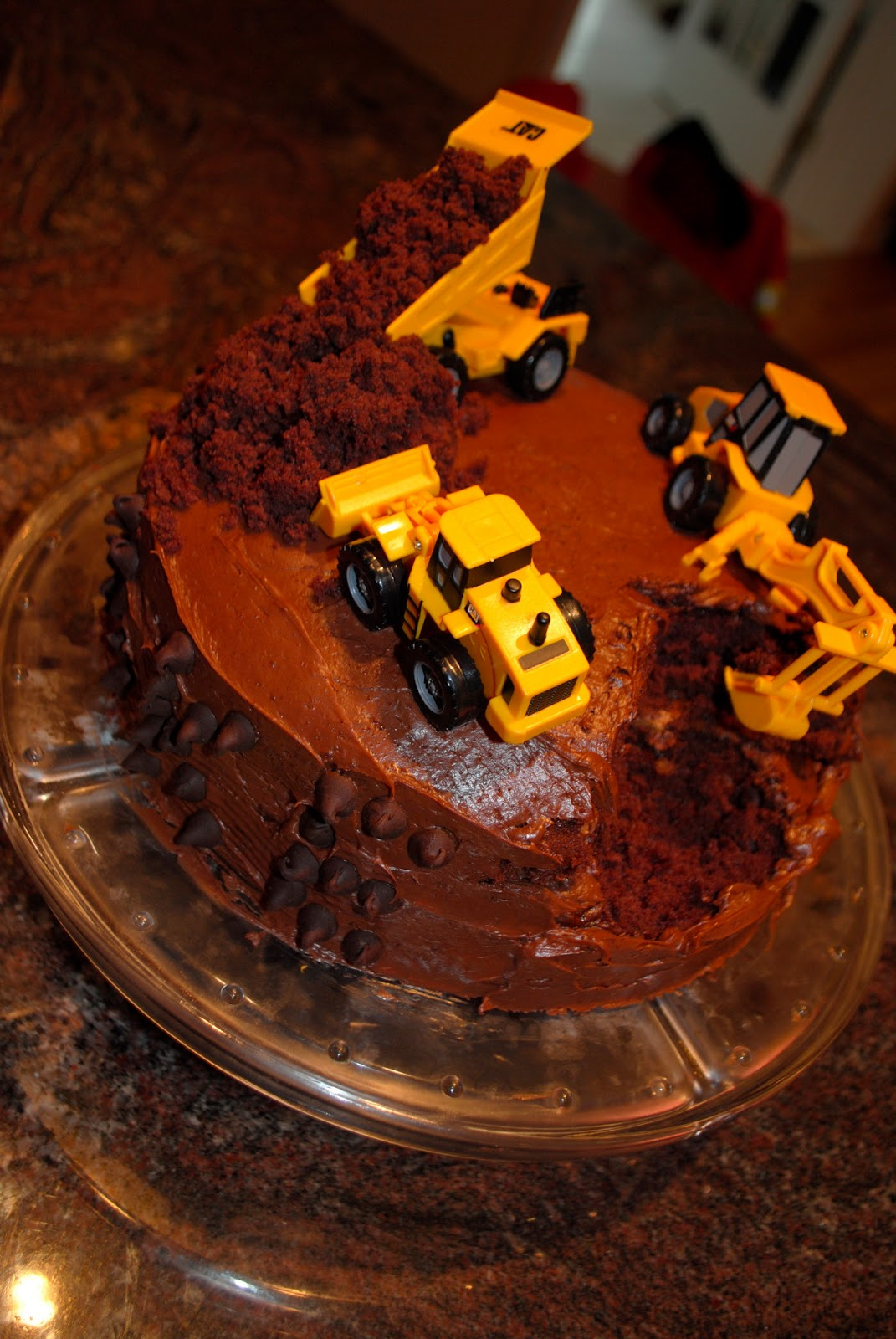 Two It Yourself Diy Construction Birthday Cake In 3 Steps Bake