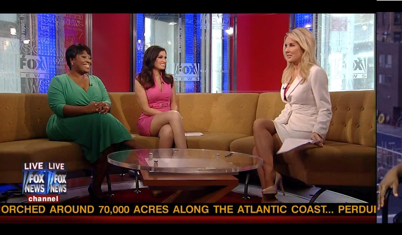 Kimberly Guilfoyle, Cheryl Casone and Heather Childers caps @ Fox