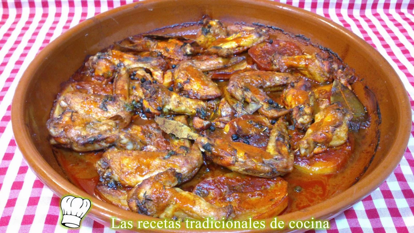 Alitas de pollo adobadas al horno receta f cil recetas de cocina con sabor tradicional - Adobo de alitas de pollo ...