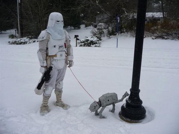 Robot anjing kencing