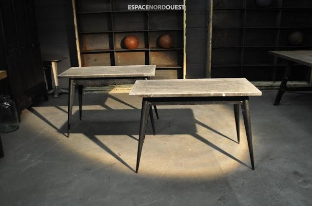 2 tolix tables