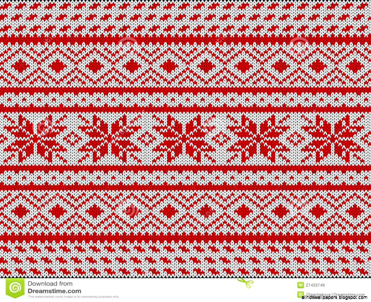 Traditional Scandinavian Pattern Royalty Free Stock Images