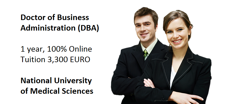 Phd online business