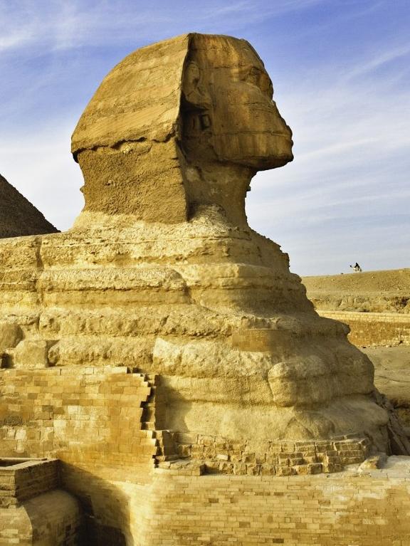 Статуя Сфинкса в Египте