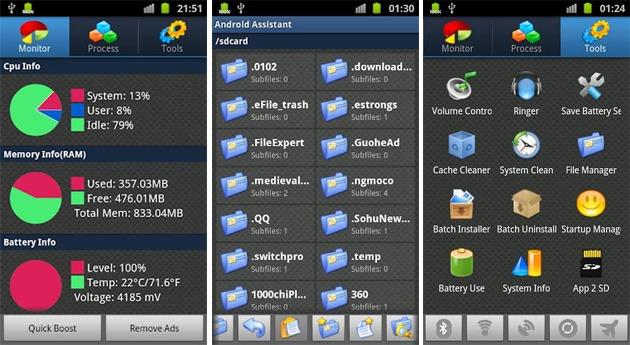 3 ứng dụng tốt nhất giúp tăng tốc cho Android