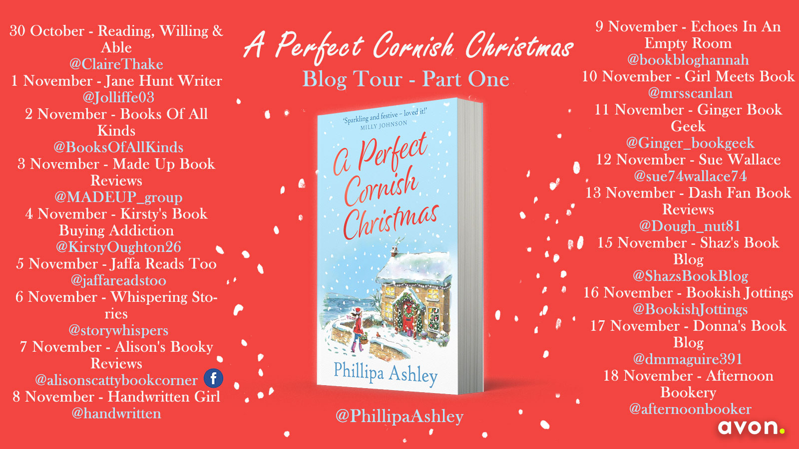 A Perfect Cornish Christmas Blog Tour