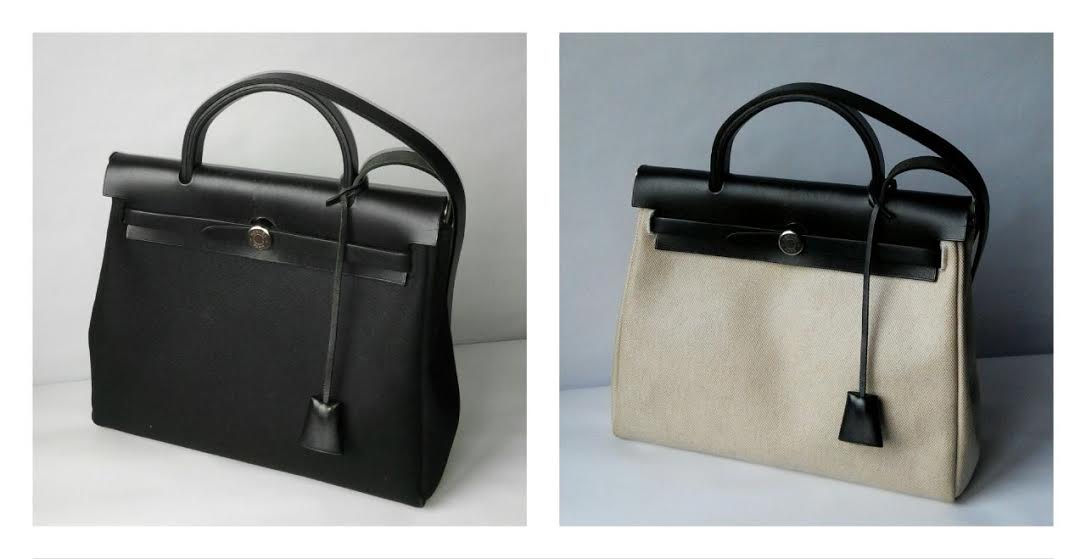 Truly Vintage: Authentic Hermes Herbag PM Black