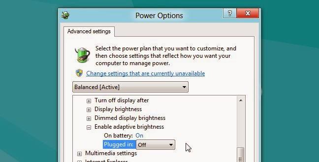 cara atasi windows 8 layar redup atau kurang cerah 6