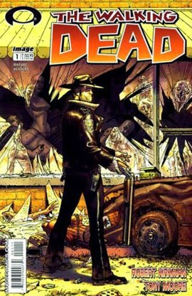The Walking Dead #1 comic cover