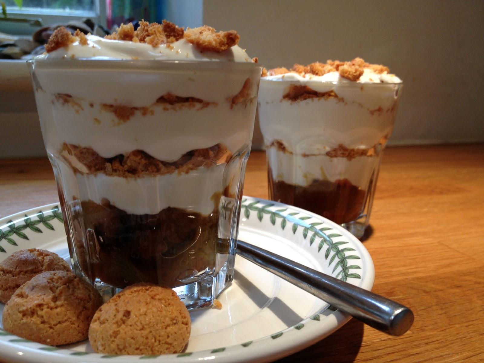 recipe junkie and the attack of the custard creams rhubarb amaretti crunch