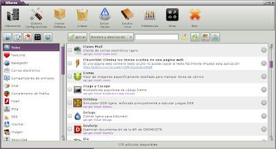 Imagen de Ailurus en Debian Squeeze