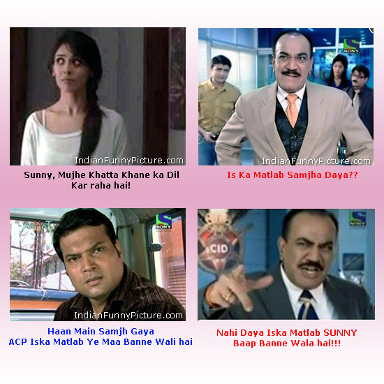 Indian Cid Daya Acp Pradyuman Funny Hindi Jokes For Facebook