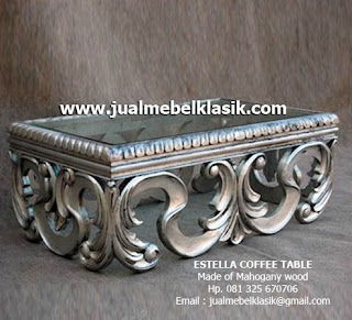 Supplier Indonesia Classic Furniture Supplier classic furniture supplier coffee table mahogany supplier furniture klasik jepara supplier mebel cat duco silver jepara
