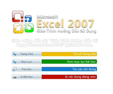 Download giáo trình WORD 2007 - EXCEL 2007