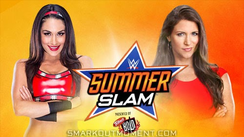 Brie Bella defeats Stephanie McMahon at SummerSlam 2014