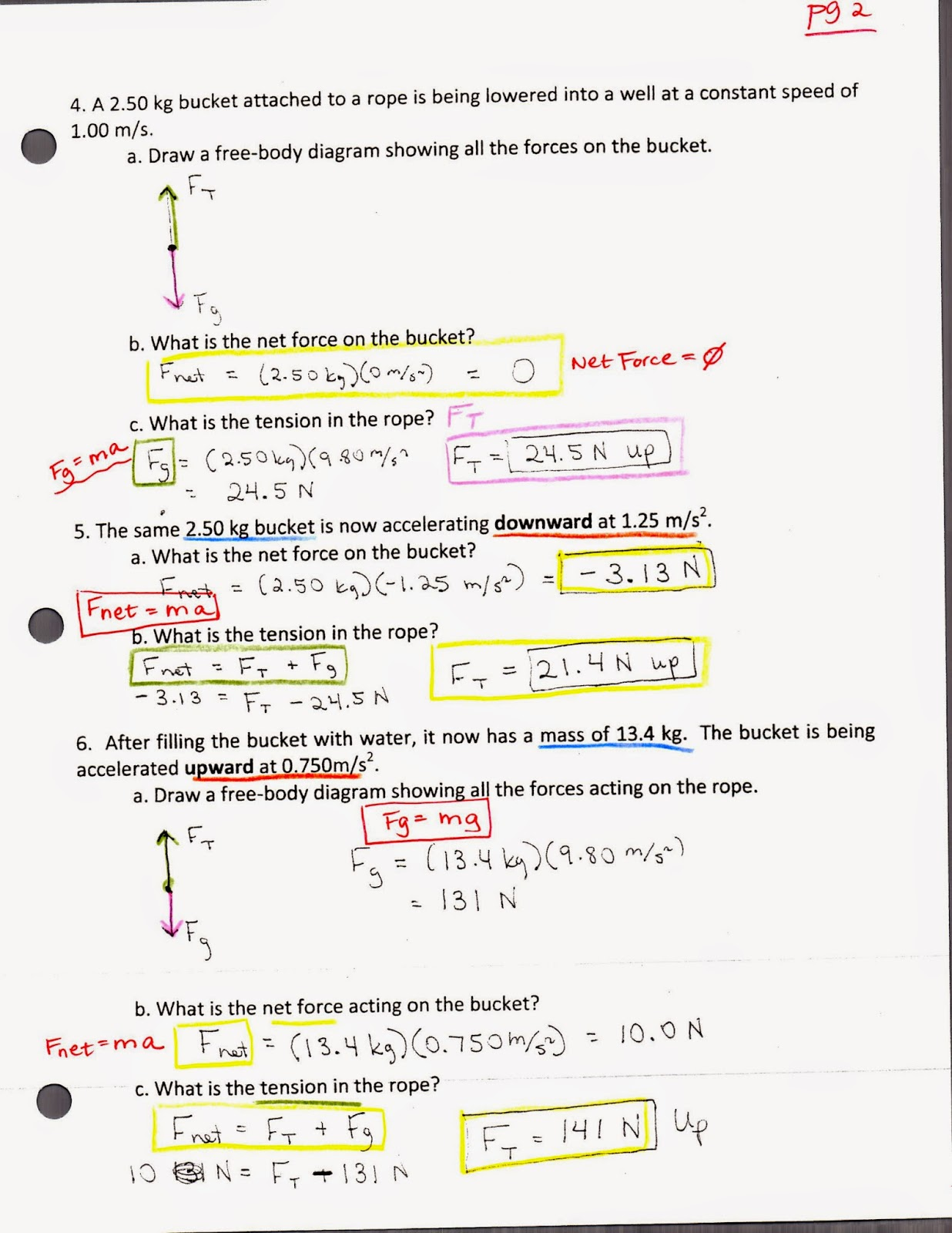 Physics with coach t study guide answers to worksheets for study guide answers to worksheets for review for vector and newtons laws test robcynllc Image collections