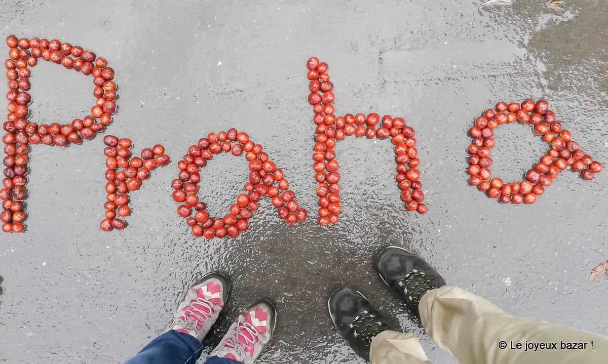 Praha - sous la pluie