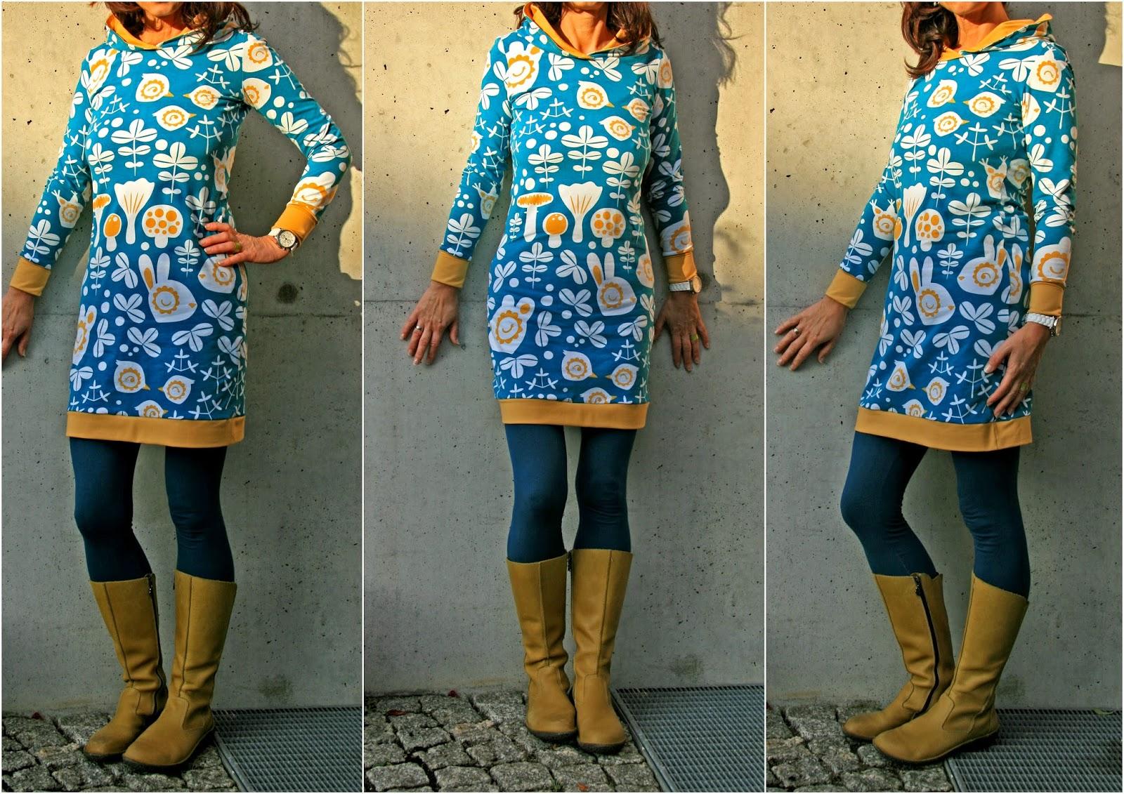 Damen kleid freebook