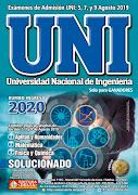 Examen UNI 2019-2 y los libros de colección de exámenes desde 1990