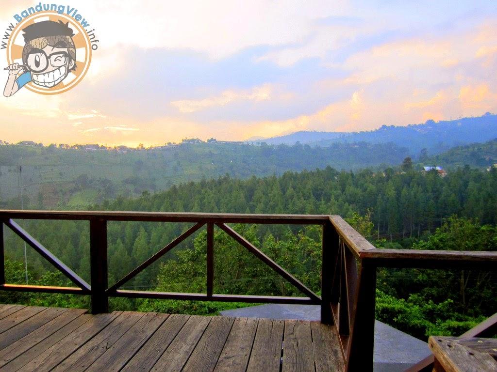 View, pemandangan lawangwangi