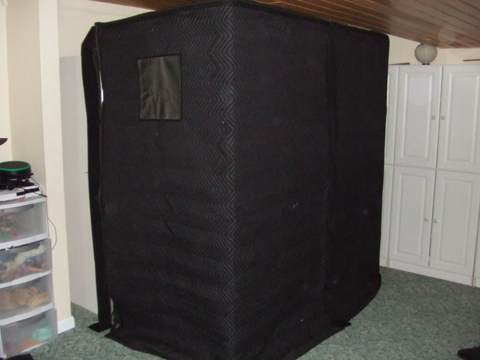 Booth Zombie Pic Sound Booth Portable
