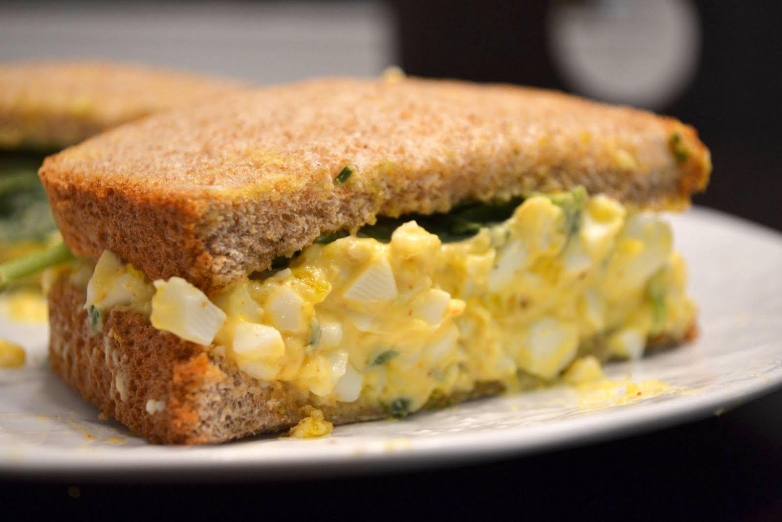 Just Putzing Around the Kitchen: Egg Salad Sandwich