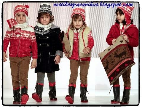 modelos de niñas para invierno