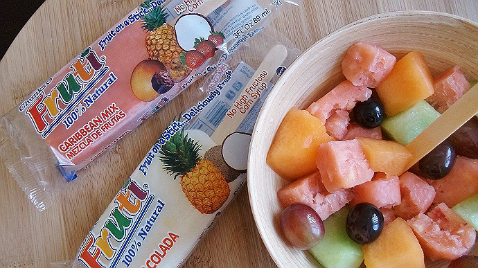 frozen fruti snacks