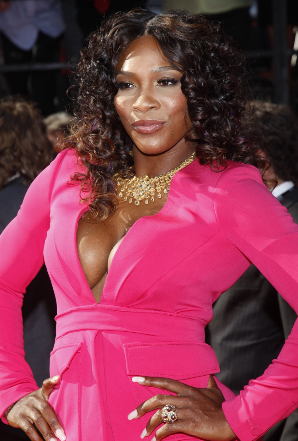 Cleavage Serena Williams nude photos 2019