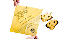folleto informativo de Tokyo Street, con un plegado sencillo de origami