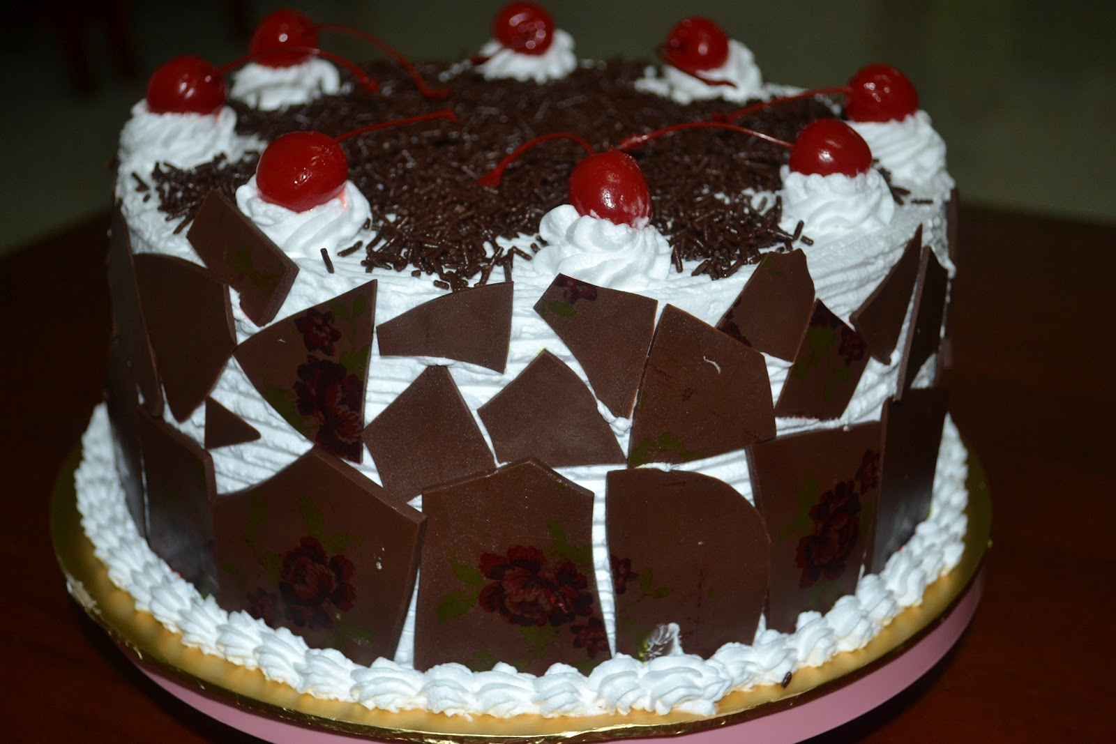 Cake Black Forest Birthday : Cakes, Cakes N more: Black Forest Cake