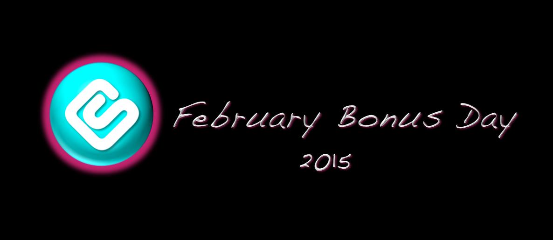 February Bonus Day 2015
