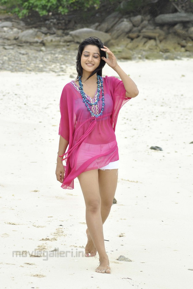 Ritu Barmecha Hot Beach Stills