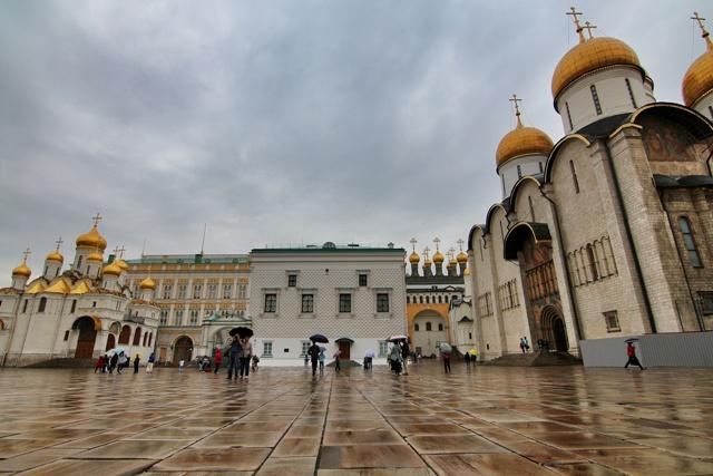 El Kremlin de Moscú y sus catedrales